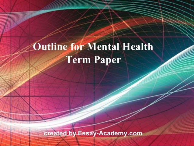 community health term paper Care of communities: community health nursing submitted group papers, community project but that learning must find a home in the long-term memory of learners.