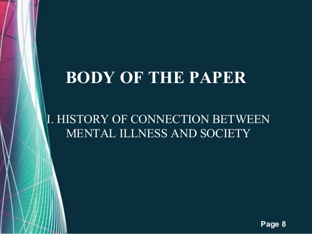 Outline for mental health term paper c the thesis statement 8 free powerpoint templates toneelgroepblik Choice Image