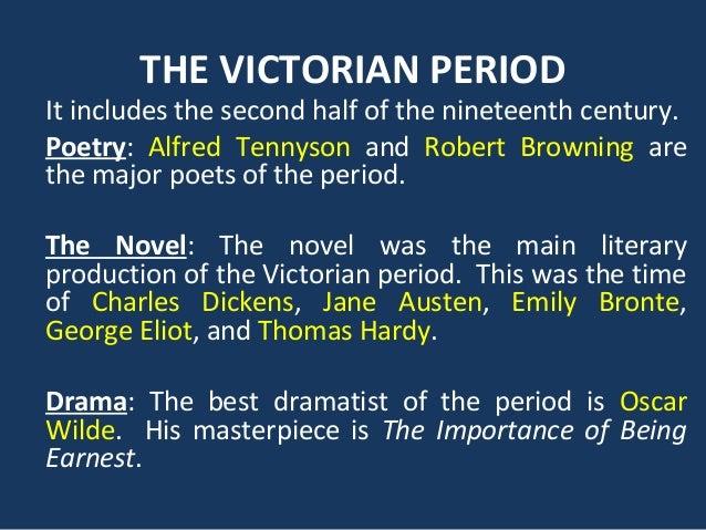 Victorian Era 1837 – 1901