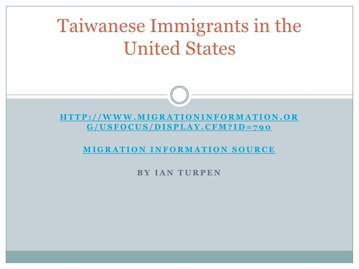 http://www.migrationinformation.org/USfocus/display.cfm?id=790<br />Migration Information Source<br />By Ian Turpen<br />T...