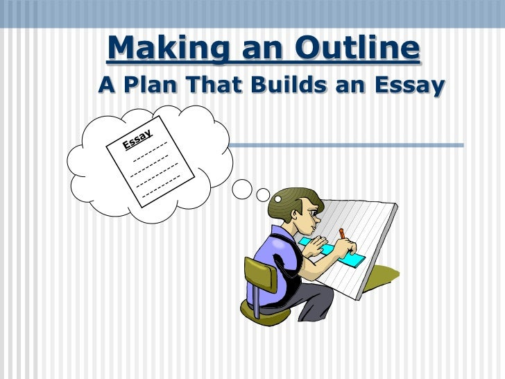 Making an OutlineA Plan That Builds an Essay