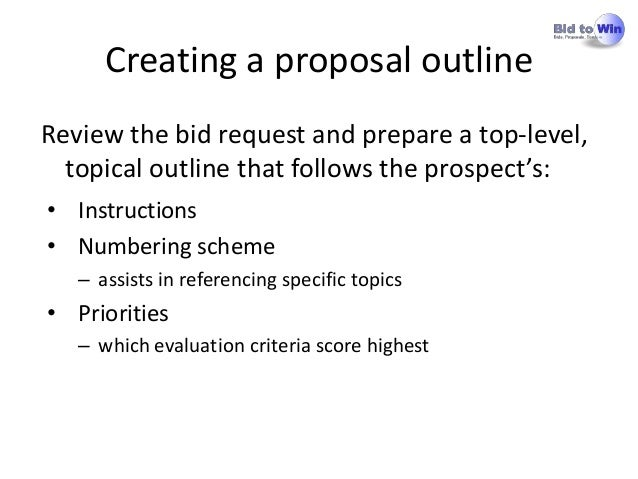 referencing specific topics 9 creating a proposal outlinereview - Proposal Outline
