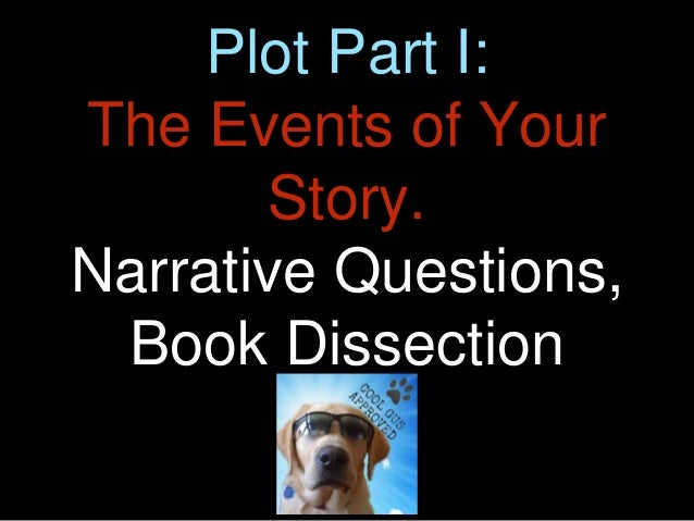 Plot Part I: The Events of Your Story. Narrative Questions, Book Dissection