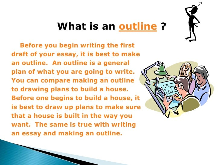 what is an outline - What Is An Outline Essay