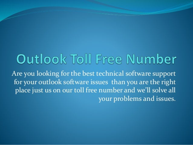Are you looking for the best technical software support for your outlook software issues than you are the right place just...