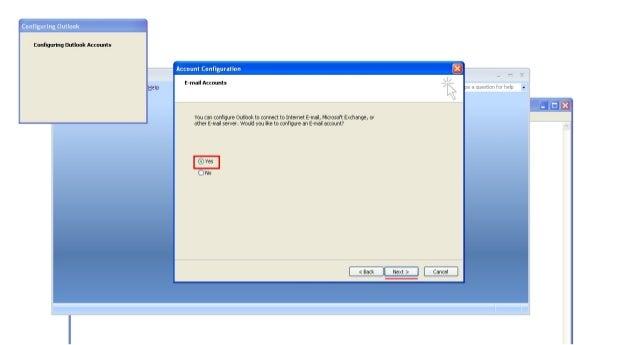 Outlook.com email setting on microsoft outlook Slide 3