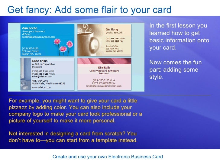 How To Make An Electronic Business Card Part - 40: ... Card; 32.