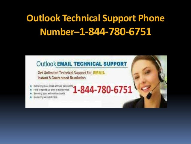 Outlook Technical Support Phone Number–1-844-780-6751