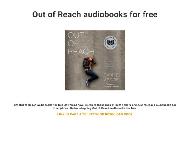 Out Of Reach Audiobooks For Free