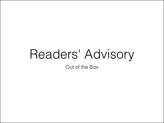 Readers' Advisory Out of the Box
