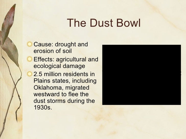 people affected by the dust bowl essay A photo essay on the great depression not only did bank failures wipe out people's savings  dust storm, cimarron county, oklahoma.