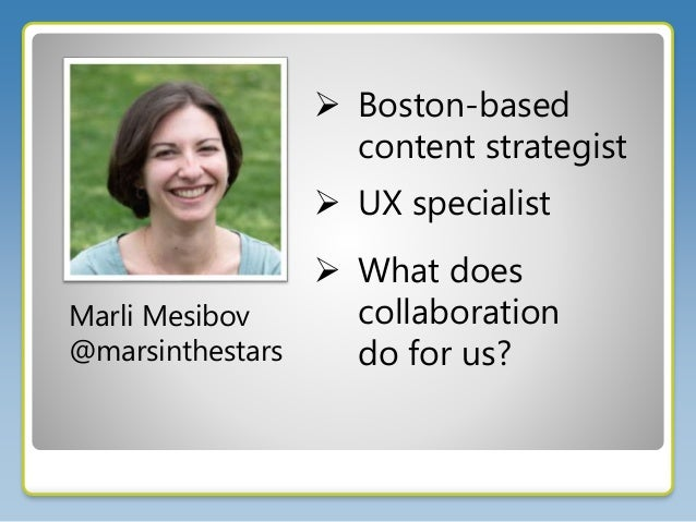 Out of the Silos and Into the Farm with Marli Mesibov Slide 2