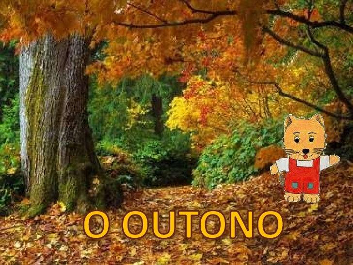 O outono<br />