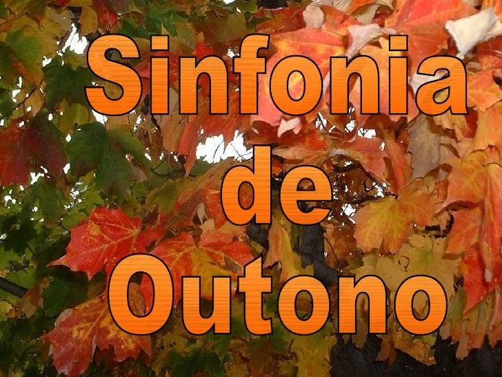 Sinfonia de Outono