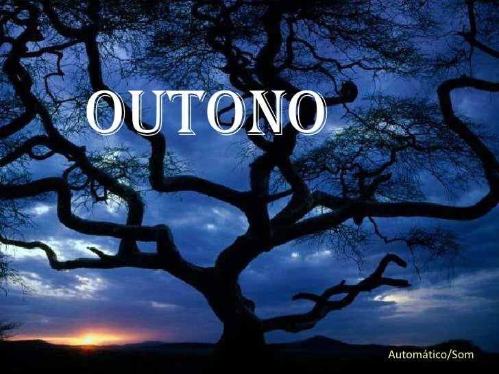 OUTONO         Automático/Som