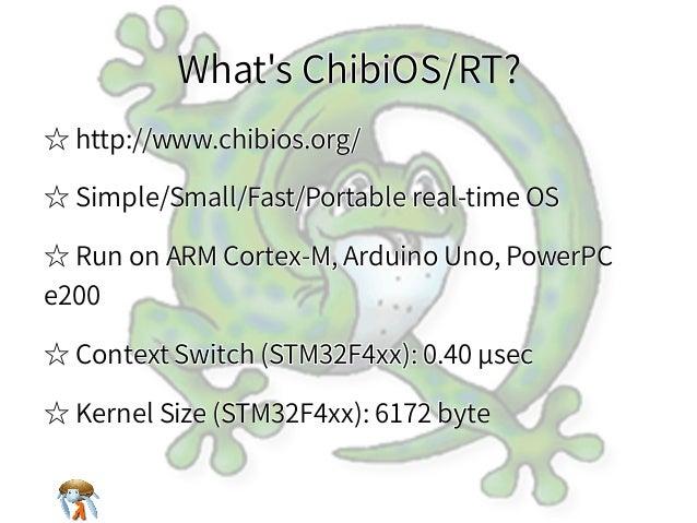 What's ChibiOS/RT?What's ChibiOS/RT?What's ChibiOS/RT?What's ChibiOS/RT?What's ChibiOS/RT? ☆ http://www.chibios.org/☆ http...