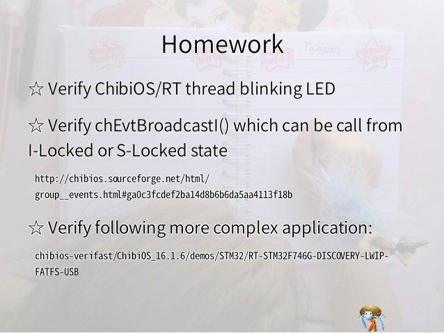 HomeworkHomeworkHomeworkHomeworkHomework ☆ Verify ChibiOS/RT thread blinking LED☆ Verify ChibiOS/RT thread blinking LED☆ V...