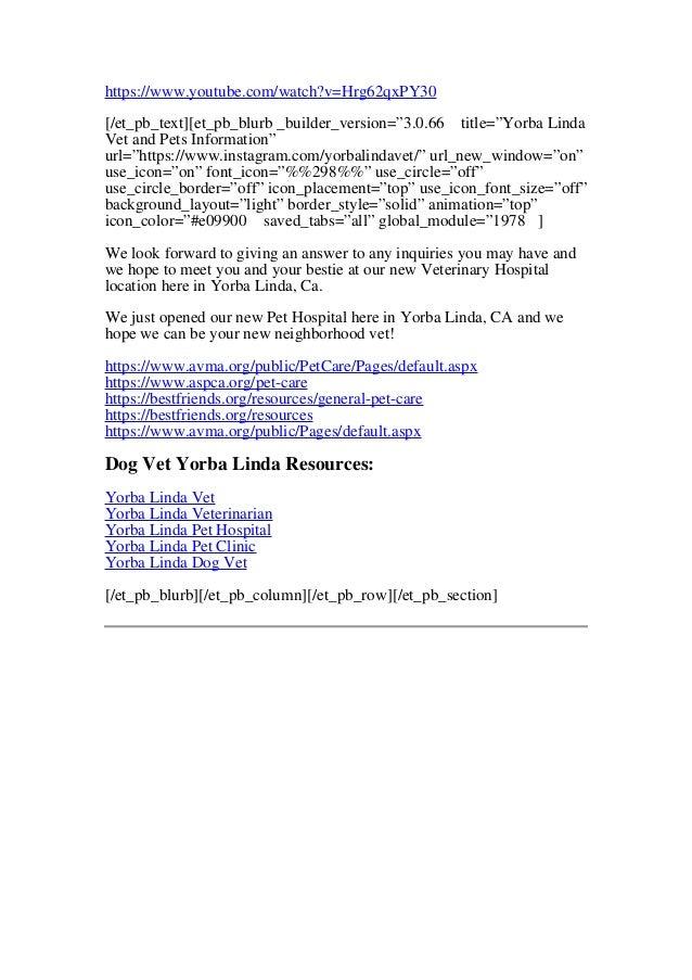 Yorba Linda Vet Help | New Yorba Linda Location Open Now