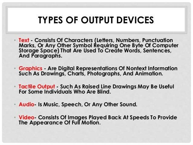 Output devices hafiq - Tous types ou tout type ...