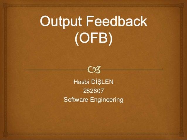 Hasbi DİŞLEN 282607 Software Engineering