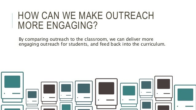 The Role of Outreach? Slide 3