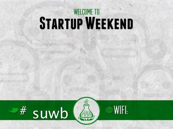 Startup Weekend Basel Outro Slide 2