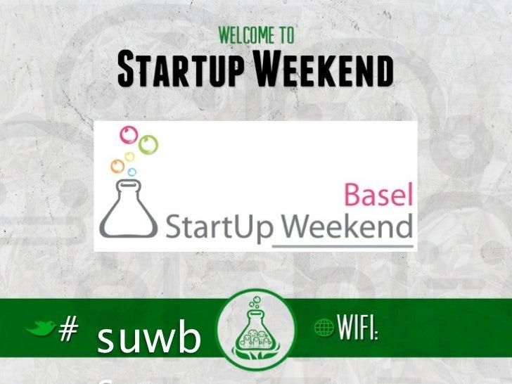Startup Weekend Basel Outro Slide 3