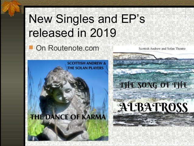 New Singles and EP's released in 2019  On Routenote.com