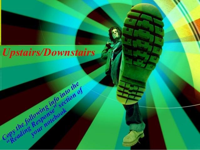 Upstairs/Downstairs                                   th e f                              ntoon o                         ...