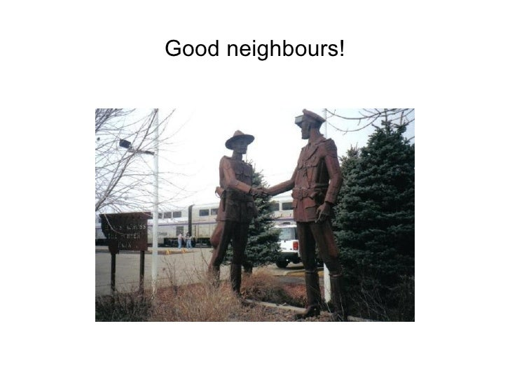 Good neighbours!