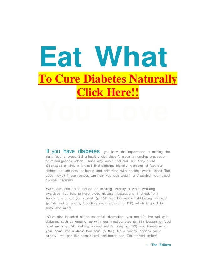 Diabetes ebookoutsmart prevention diabetes 4 eat what to cure diabetes naturally click here you love if you have diabetes you know the fandeluxe Images