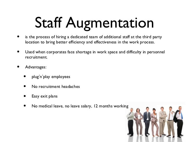 Business plan for staff augmentation contractor