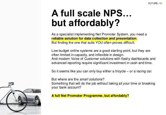 Outsourced Net Promoter System NPS Implementation Slide 2