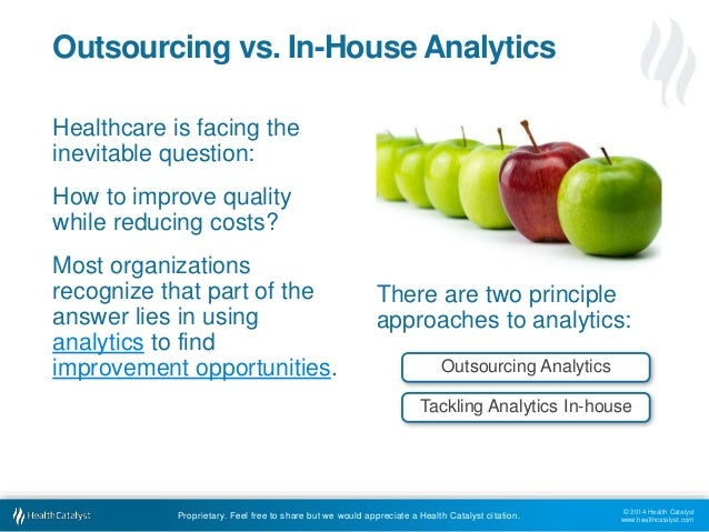 Outsourced vs. In-house Healthcare Analytics: Pros and Cons