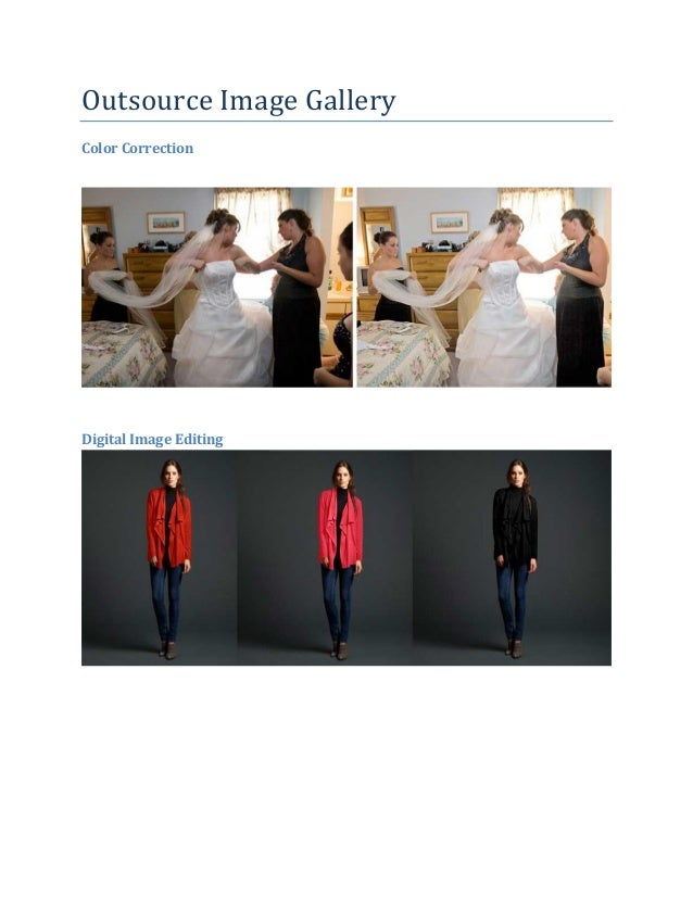 Outsource Image Gallery Color Correction  Digital Image Editing
