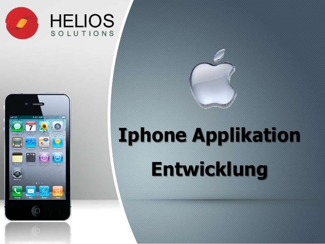 Iphone Applikation Entwicklung