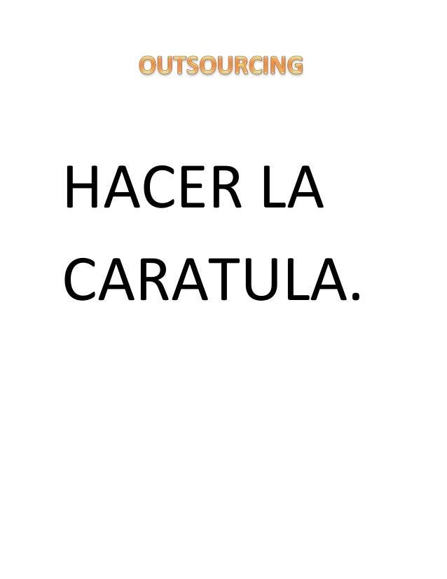 HACER LA CARATULA.