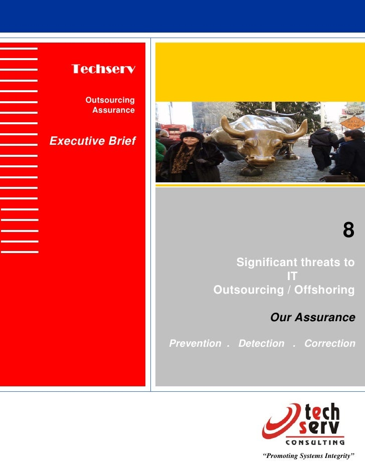 Techserv        Outsourcing        Assurance   Executive Brief                                                            ...