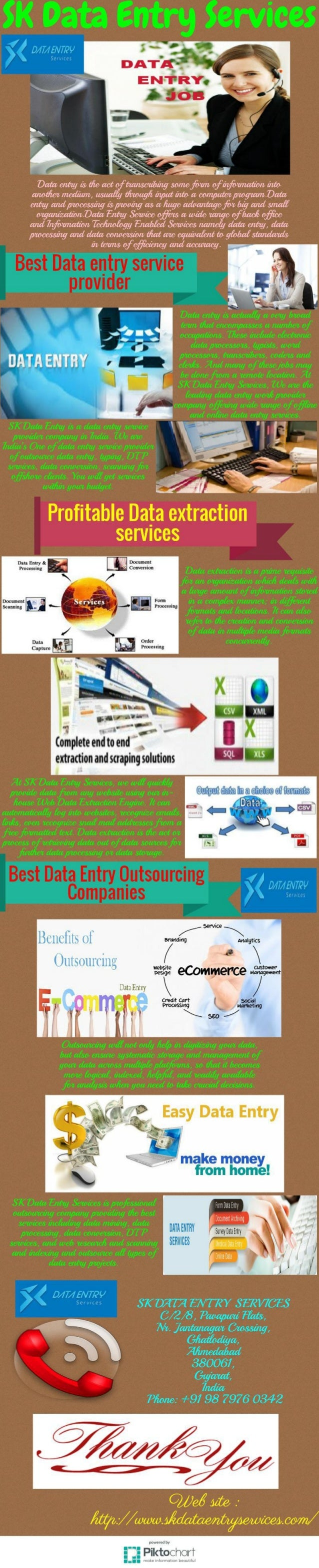 data entry service provider As a unique and popular data entry service provider company in india our motto is to provide fast accurate and best quality data entry service with reasonable price.