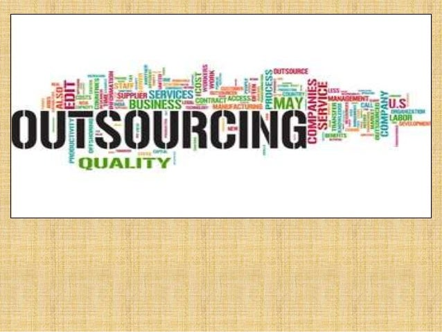 Outsourcing & Types Outsourcing is the process of assigning company's business processes to an external agency in lieu of ...