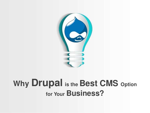 Why Drupal is the Best CMS Option for Your Business?