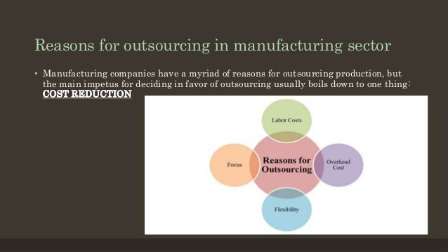 the strategic rationale for outsourcing decisions Strategic sourcing  numbers of buyers involved in the decisions expand in a global enterprise, it is possible for one purchasing decision to impact numerous business processes or departments including  global outsourcing operations in support of business growth and.