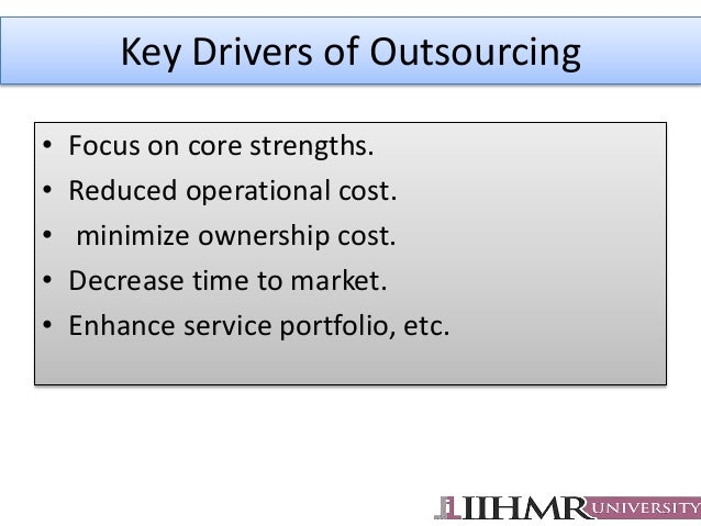 key cost drivers in pharmaceutical firms An analysis of the key drivers, decision making and strategic issues with respect to outsourcing in the sa pharmaceutical manufacturing industry.
