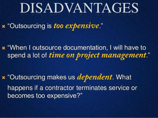 Outsourcing Methods Ppt