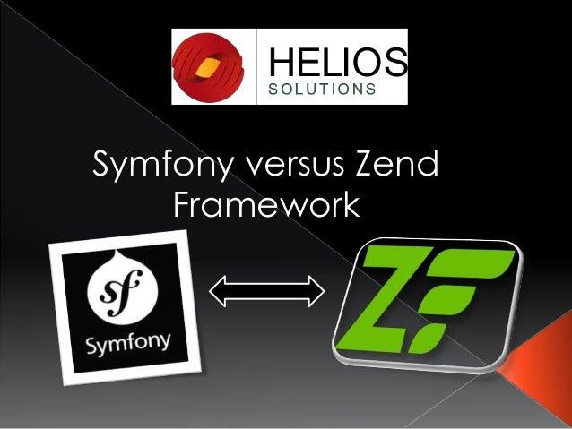 Symfony versus Zend Framework