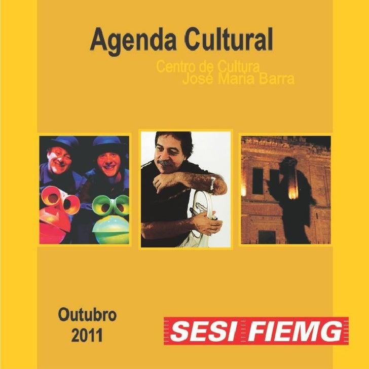 Agenda de outubro