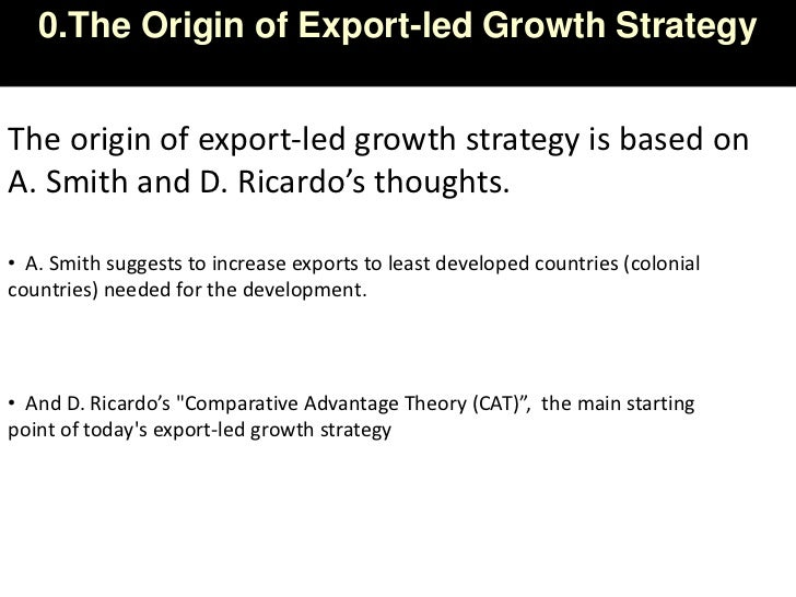 export led growth hypothesis in malaysia an This paper aims to re-estimate the robustness of the relationship between export and economic growth in the malaysian economy from 1959 to 2000 combining both.