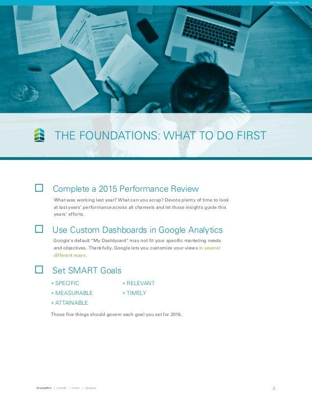 Ouw 2016 marketing checklist  (1) Slide 3
