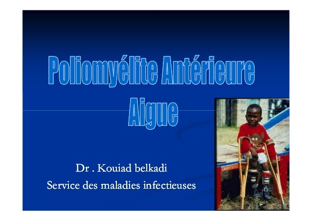 Dr .Dr . KouiadKouiad belkadibelkadi Service des maladies infectieusesService des maladies infectieuses Dr .Dr . KouiadKou...