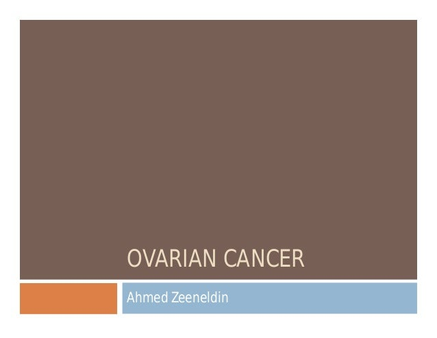 how to detect ovarian cancer at home